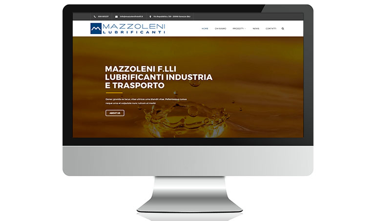 On line il nuovo sito Mazzoleni Fratelli!