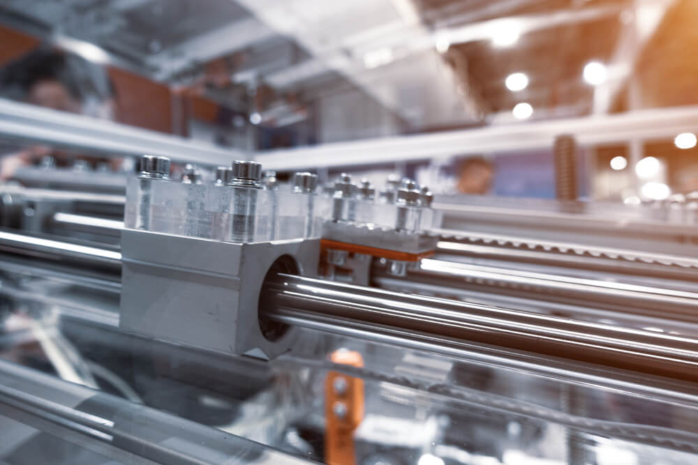 Lubrificanti per guide lineari e macchine utensili